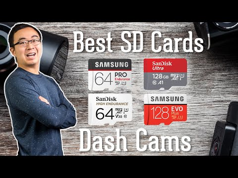 Best MicroSD Cards for Dash Cams - 2019 Update | Great for CCTV Security Cameras