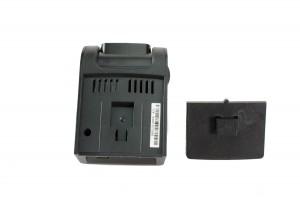 A118-C Dash Camera Shown at a Quarter View