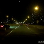 A118C - Passing Cars on the Highway in Toronto