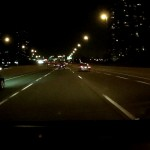 MG380G - Passing Cars on the Highway in Toronto