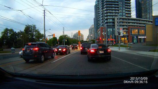 Dome D201 - Toronto Lakeshore Dusk