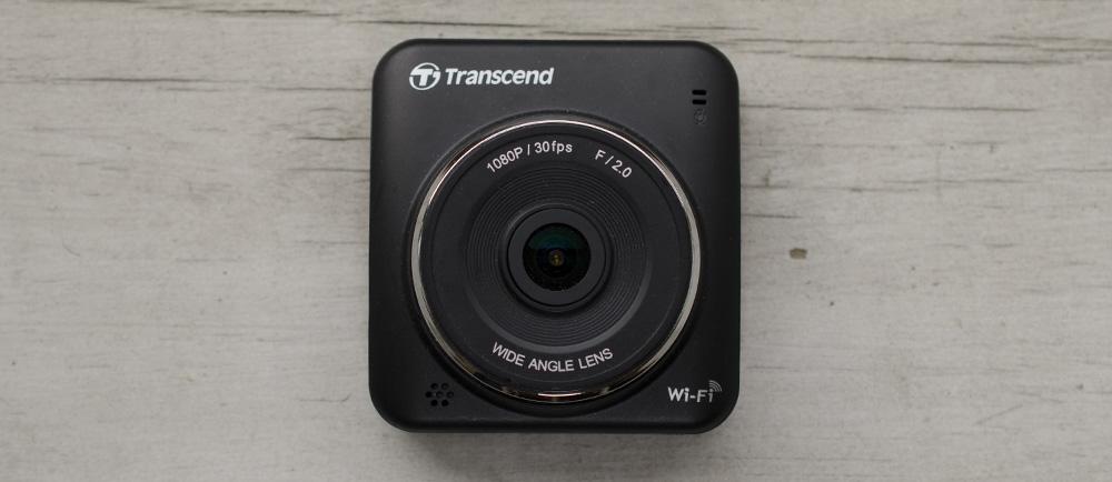 Transcend Drive Pro 200 Dash Camera Overhead