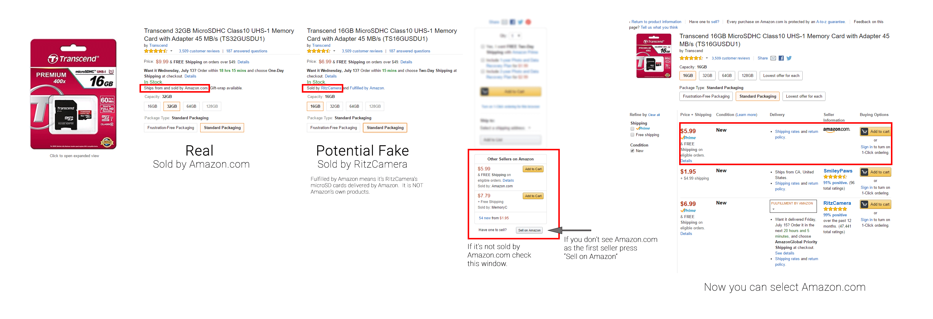 how to avoid counterfeit products on amazon